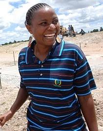 Ufoo Saro mwandishi wa habari wa ITV